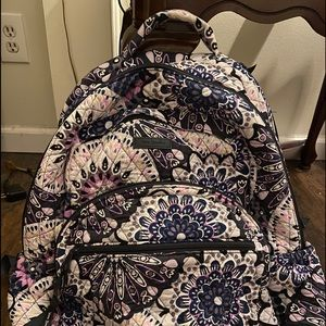 Vera Bradley backpack and matching lunch bag.
